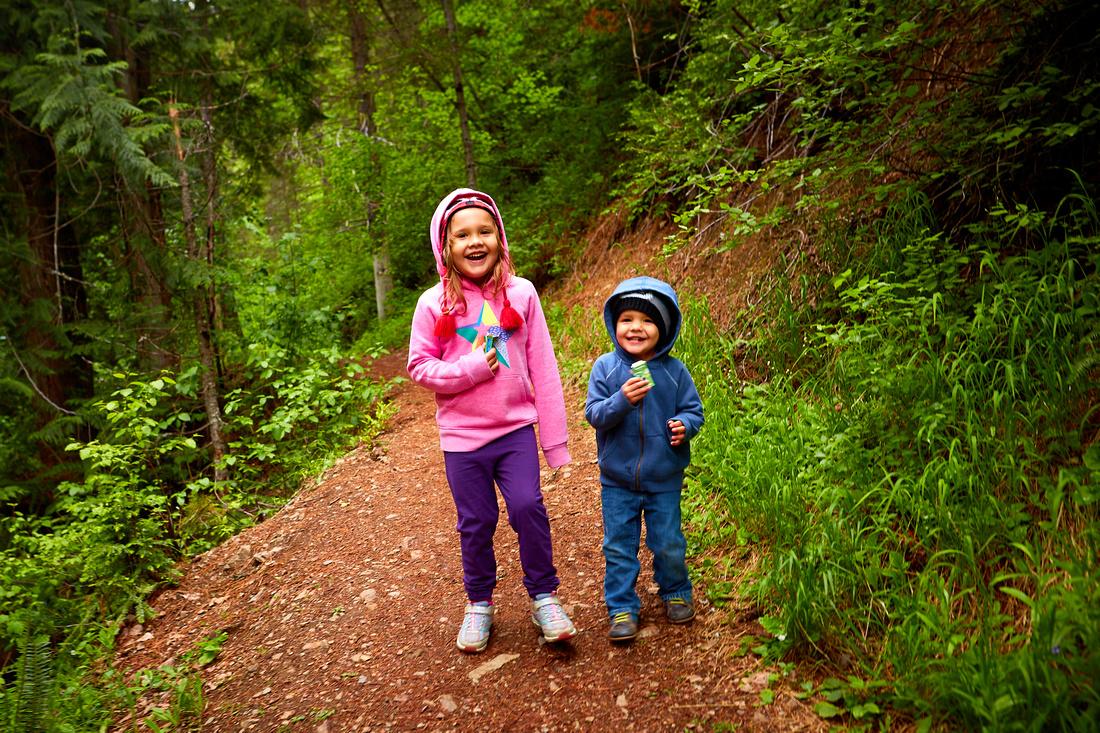 The Pulaski Trail in Wallace, Idaho.
